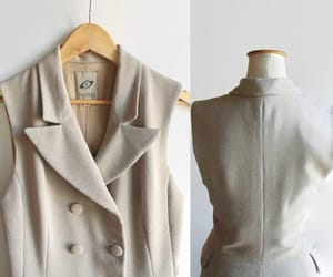etsy, trench coat, and button down image