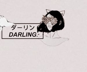 aesthetic, black, and darling image