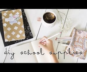 art, arts and crafts, and notebooks image