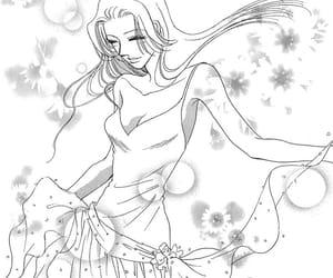 girl, manga love, and love image
