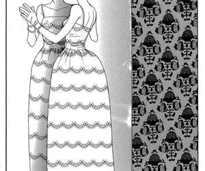 dress, gold, and manga image