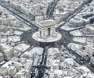 arc de triomphe, france, and paris image