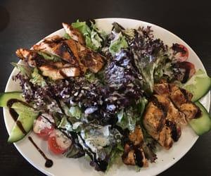 healthy, salad, and salat image