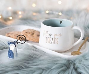 coffee, hot chocolate, and Cookies image