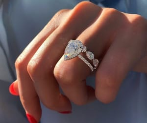 diamond, jewelry, and nails image