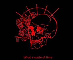 quotes, skeleton, and time image