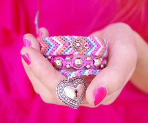 bracelets, fashion, and friendship bracelets image