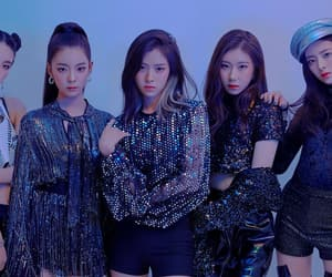 aesthetic, black pink, and itzy image