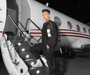 luxury, james charles, and private jet image