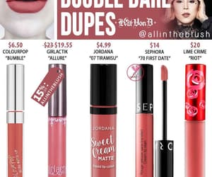 beauty, dupes, and makeup dupes image