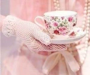 pink and tea time image