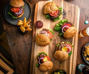 burgers and fast food image