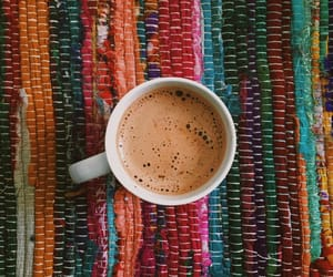 coffee, colorful, and cosy image