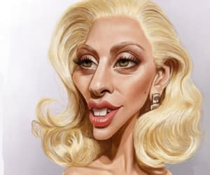 actress, gaga, and humour image