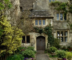 wiltshire, malmesbury abbey gardens, and garden image