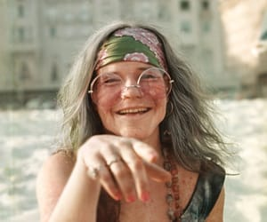 janis joplin, hippie, and vintage image