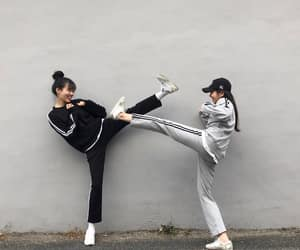asian, Best, and friend image