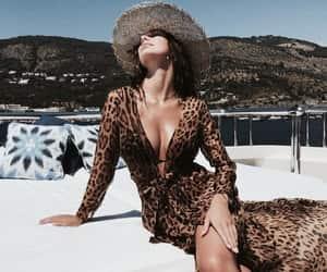 bikini, dress, and fashion image