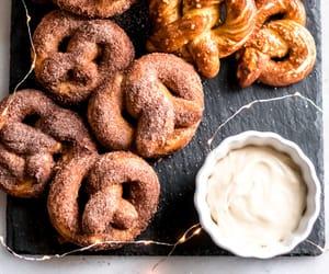 baking, lights, and pretzel image