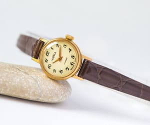 etsy, ladies watch, and gold watch jewelry image