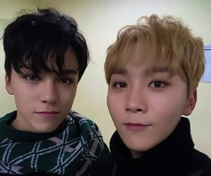 otp, vernon, and Seventeen image