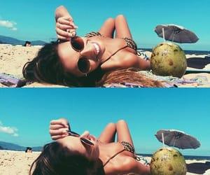 beach, fotos, and girl image