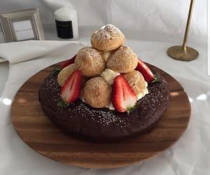 cafe, cake, and chocolate image