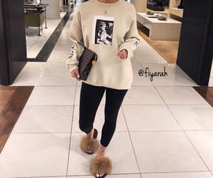 louis vuitton lv, luxury luxe nude, and ootd tenue love image