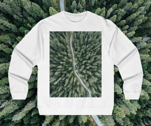 aerial photo, aerial photography, and sweater image