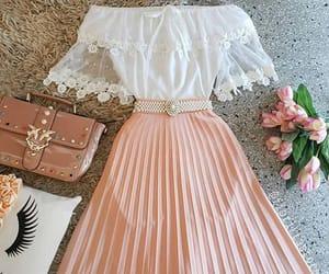 dress, elegant, and night image