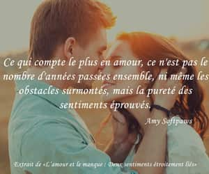 amour, francais, and text image