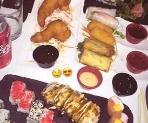 food, sushi, and looove image