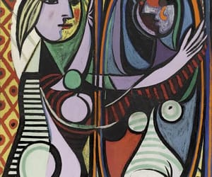 picasso, art, and mirror image