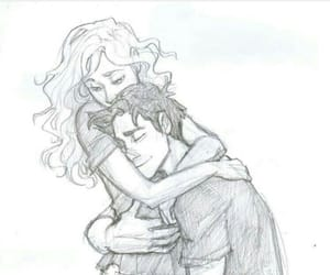 percabeth, percy jackson, and drawing image