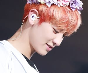 concert, flower crown, and exo image
