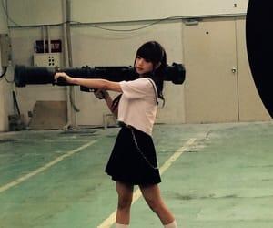 gun, japanese, and kawaii image
