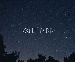 wallpaper, music, and stars image