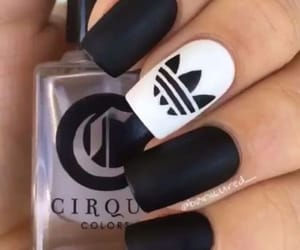black, like, and nails image