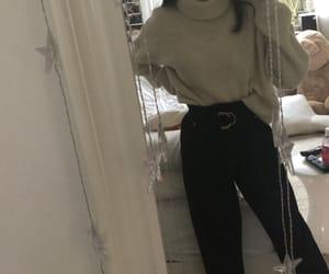 belt, black, and jeans image