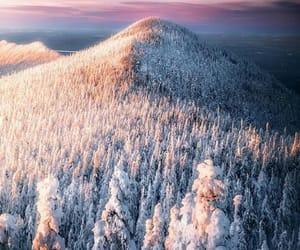 belleza, nieve, and paisaje image