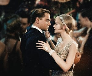 the great gatsby, leonardo dicaprio, and movie image