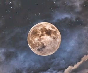 article, moon, and night image