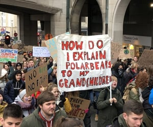 brussels, demonstration, and climate image