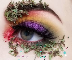 colors, cosmetics, and eye image
