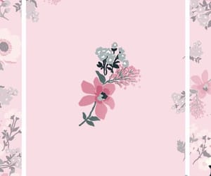 background, we heart it, and flowers image
