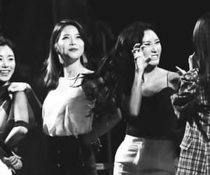 black and white, hwasa, and kpop image