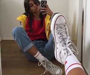 girl, converse, and aesthetic image