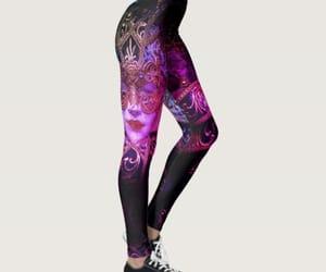 black, masquerade, and purple image