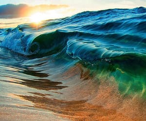 nature, water, and waves image
