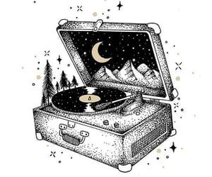 music and night image